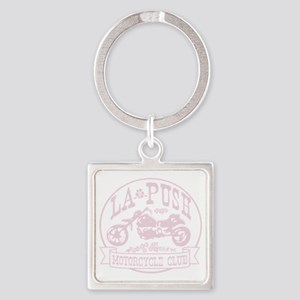 lapush cycles LIGHTpink Square Keychain