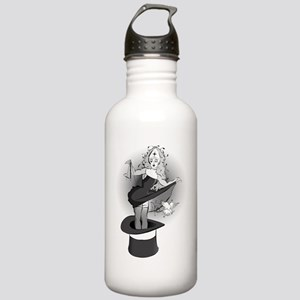 no words b and w Stainless Water Bottle 1.0L