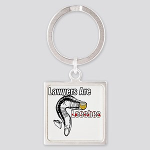 2-lawyers Square Keychain
