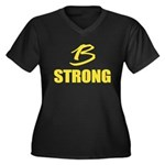 B Strong Plus Size T-Shirt