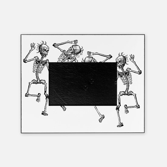 skeletons dancing Picture Frame