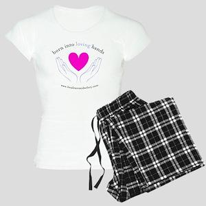LCM_loving_hands Women's Light Pajamas