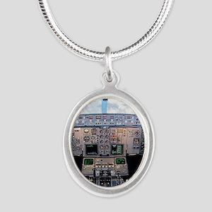 DSC_0231 Silver Oval Necklace