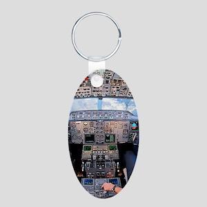 DSC_0231 Aluminum Oval Keychain
