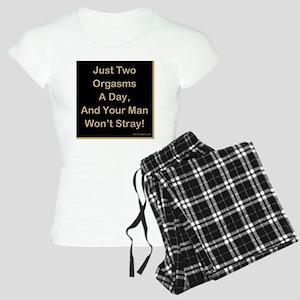 10x10blackbk Women's Light Pajamas