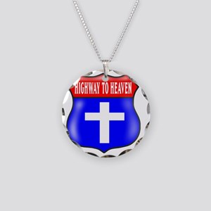 HIGHWAY TO HEAVEN 3 Necklace Circle Charm