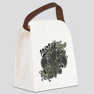 fleur_de_lis Canvas Lunch Bag