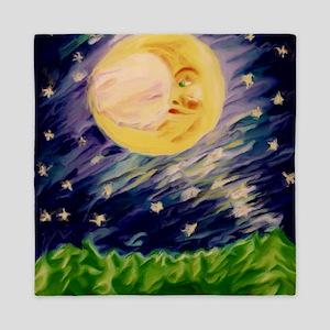 Night Moon Queen Duvet