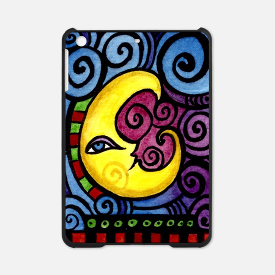Swirly_Moon_12inch iPad Mini Case