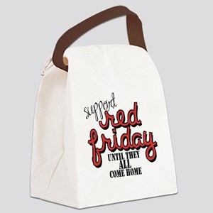 redfriday2 Canvas Lunch Bag