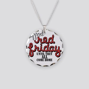 redfriday2 Necklace Circle Charm