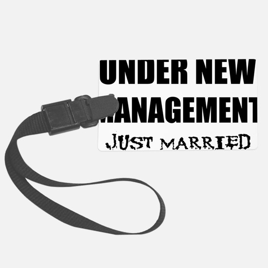 2-just-married Luggage Tag