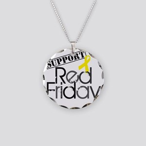 redfriday4 Necklace Circle Charm