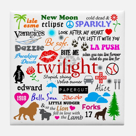 Twilight Memories Tile Coaster