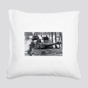 WWII german tshirt2 Square Canvas Pillow