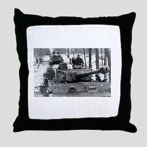 WWII german tshirt2 Throw Pillow