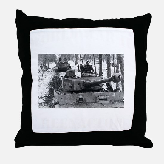 WWII german tshirt2 Throw Pillow