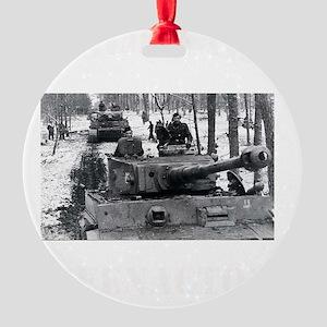 WWII german tshirt2 Round Ornament