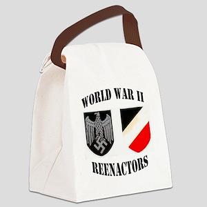 WWII german ovalsticker2 Canvas Lunch Bag