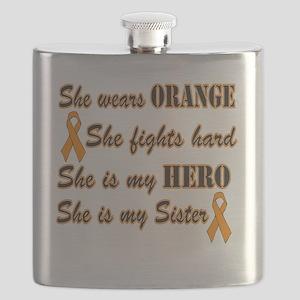 She is Sister Orange Hero Flask