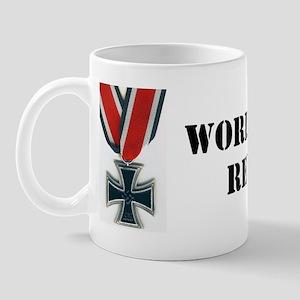 WWII reenactor bumpersticker Mug