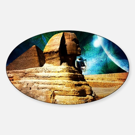 2-Sphinx78 Sticker (Oval)