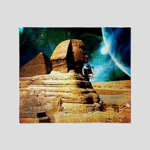 2-Sphinx78 Throw Blanket