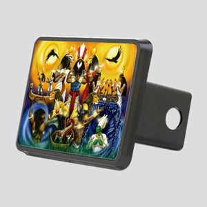 The Gods81 Rectangular Hitch Cover
