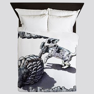 Attitude is everything! Queen Duvet