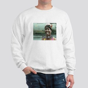 SweetBrownChineseLg Sweatshirt