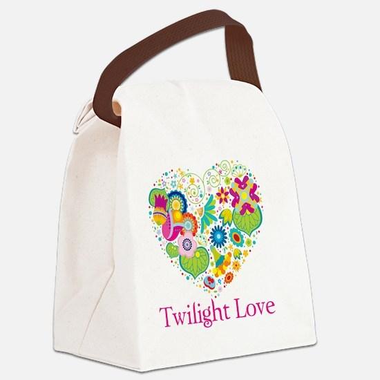 Twilight Love BBtn Canvas Lunch Bag