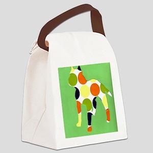 pitbullgreen Canvas Lunch Bag