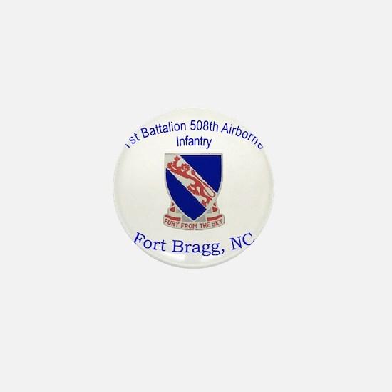 1st Bn 508th ABN Mini Button