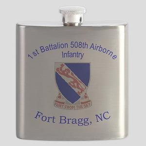 1st Bn 508th ABN Flask