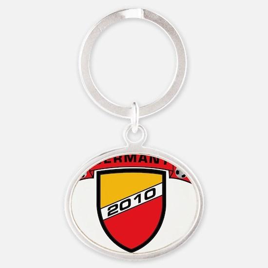 germany_1 Oval Keychain
