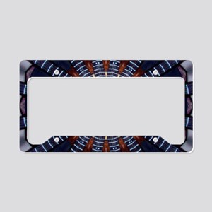 Abstract #8 License Plate Holder
