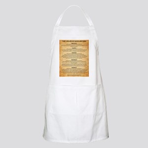 Boyes Largest Rules Poster Apron