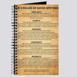Boyes Largest Rules Poster Journal
