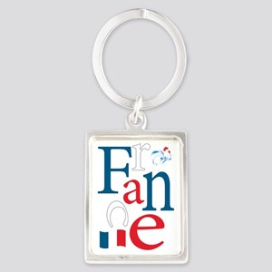 3-france Portrait Keychain
