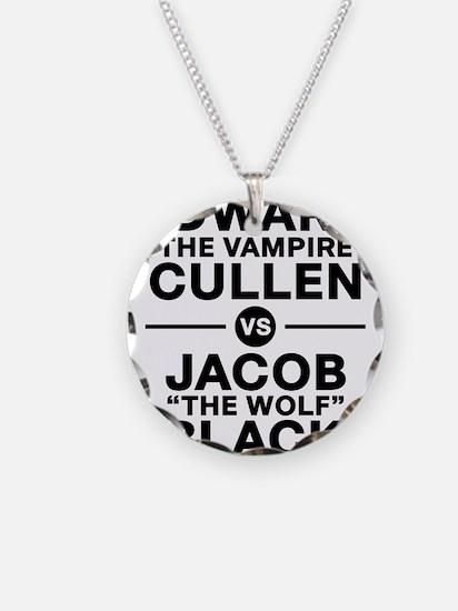 edward-vs-jacob_black Necklace