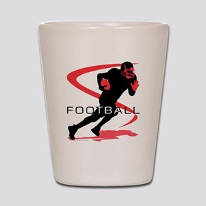 Football 18 Shot Glass