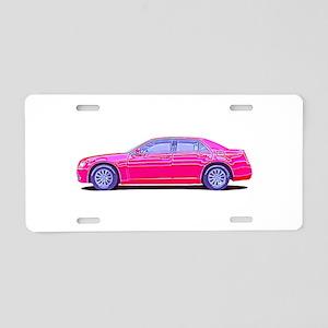 2013 Chrysler 300 Aluminum License Plate