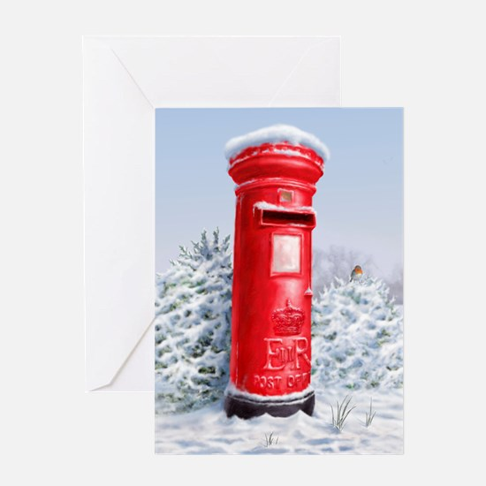 Cute Letter box Greeting Card