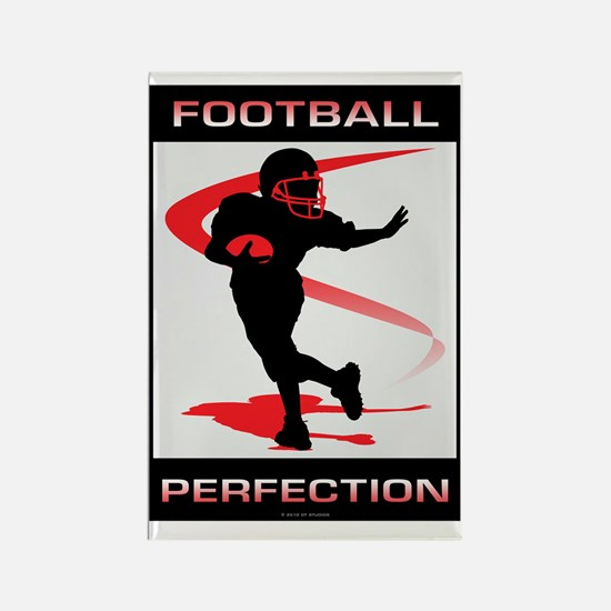 Football 1 Rectangle Magnet