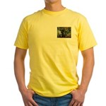 Here To Heaven Albun CoverYellow T-Shirt