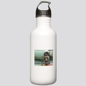 SweetBrownChineseLg Stainless Water Bottle 1.0L
