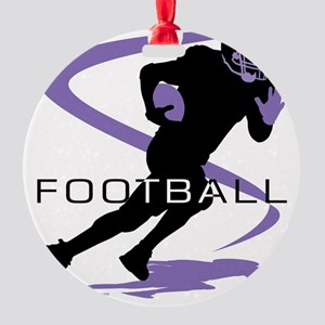 Football 19 Round Ornament