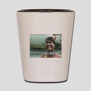 SweetBrownChineseLg Shot Glass