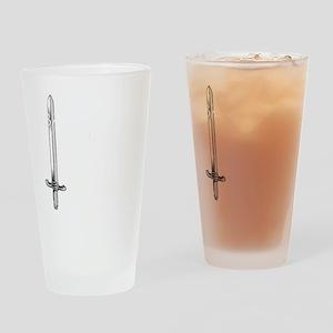 barbarianwhite Drinking Glass