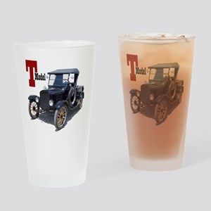 T-truck-10 Drinking Glass